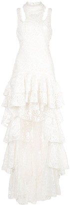 Alexis Varenna lace gown