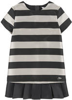 Little Marc Jacobs Mini Me striped satin dress