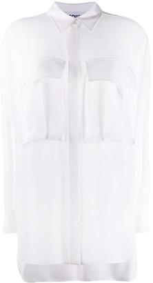 Moschino Oversized Flap Pocket Shirt