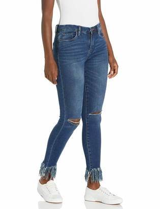 Blank NYC Women's The Bond MID Rise Skinny Blue