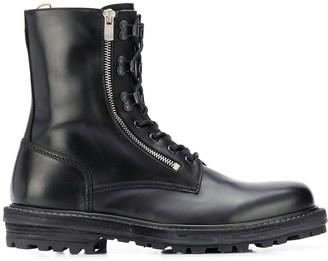 Officine Creative Ocuthra combat boots
