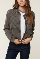 O'Neill Leilah Quilted Fleece Bomber Jacket