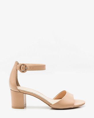 Le Château Leather Ankle Strap Sandal