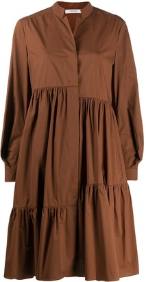 Dorothee Schumacher Oversized Poplin Tiered Dress