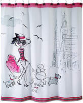 "Avanti Chloe 72"" Square Graphic-Print Shower Curtain Bedding"