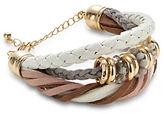Expression Three-Row Braided Bracelet