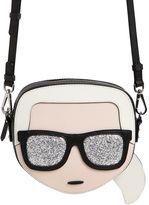Karl Lagerfeld K/Ikonik Face Crossbody Bag