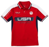 Ralph Lauren Boys' Tech Mesh Polo Shirt - Sizes 2-7