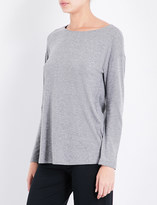 Hanro Long-sleeved cotton-jersey pyjama top
