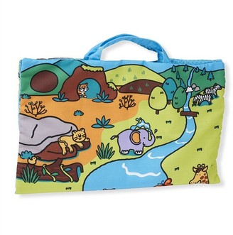 Melissa & Doug Take-Along Playmat Safari