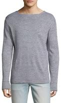 Save Khaki Thin Stripes Sweater