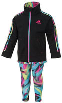 adidas Baby Girls Jacket and Pant Set