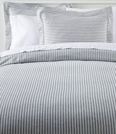 L.L. Bean L.L.Bean Ultrasoft Comfort Flannel Comforter Cover Collection, Stripe