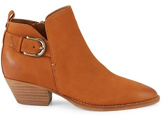 Sam Edelman Neena Leather Point-Toe Ankle Boots