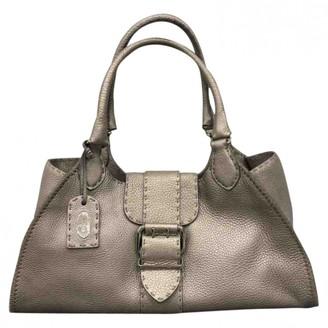 Fendi Metallic Leather Handbags