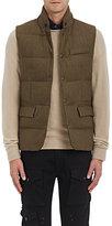 Ralph Lauren Purple Label Men's Wool Down-Quilted Vest
