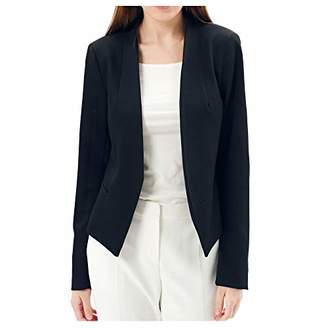 Charis Allure Women's Casual Work Office Open Front Blazer Jacket S
