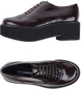 Jil Sander Navy Lace-up shoes