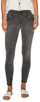 Current/Elliott The Silverlake Faded Zip Cuff Jeans