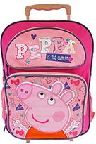Peppa Pig Pink 'Peppa is the Cutest' Rolling Backpack