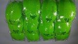 N2 12set 24 pcs NEW VINTAGE LARGE COMB BANANA CLIP HAIR RISER CLAW LOT color(Neon Green)