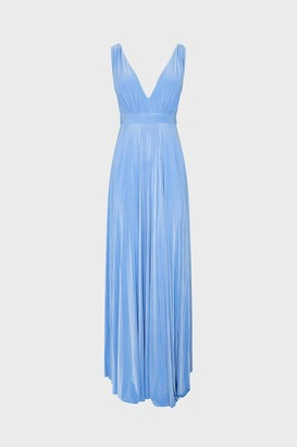 Coast Sleeveless V-Neck Jersey Maxi Dress