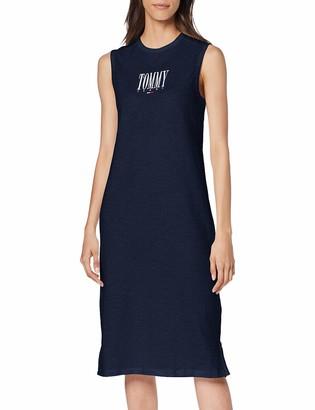 Tommy Jeans Women's Tjw Embroidery Tank Dress