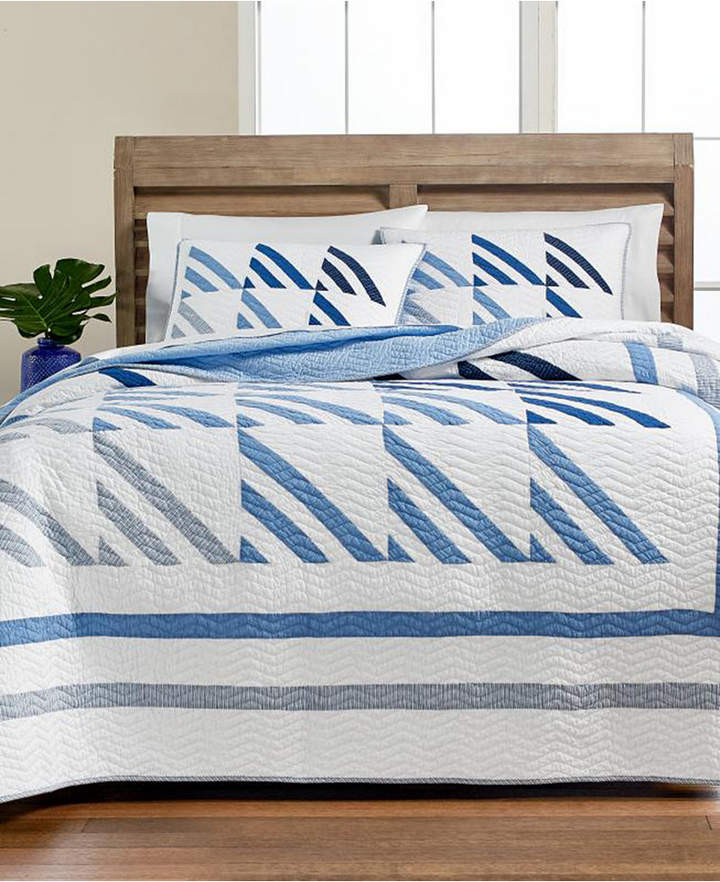 Martha Stewart Collection Nautical Sails Full/Queen Quilt