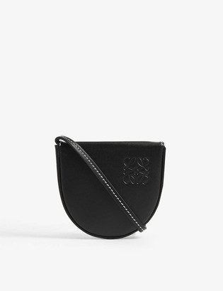 Loewe Heel pouch leather shoulder bag