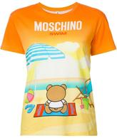 Moschino teddy sunset T-shirt - women - Cotton - XS