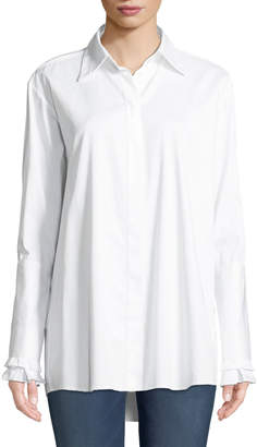 Maggie Marilyn Everlasting Love Cotton Button-Front Shirt