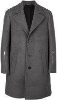 Neil Barrett single-breasted coat - men - Polyamide/Polyester/Spandex/Elastane/Wool - 46