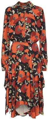 Dodo Bar Or Floral midi shirt dress