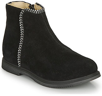 GBB OJIMA girls's Mid Boots in Black