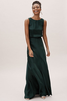 Anthropologie Alexia Dress By in Green Size S