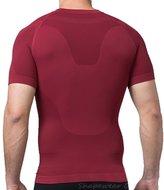 TopTie Men's Compression Top, Short Sleeve Slim Fit T-shirt - ,L