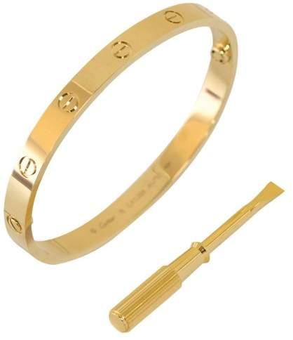 Cartier Love Bracelet 18K Yellow Gold Size 20