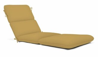 Charlton Home Indoor/Outdoor Chaise Lounge Cushion Charlton Home Fabric: Camel