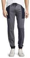 Michael Kors Jaspe Colorblock Jogger Pants