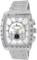 Le Château Men's 5408M_WHT Sports Dinamica Collection with Chrono and Military-Time Watch
