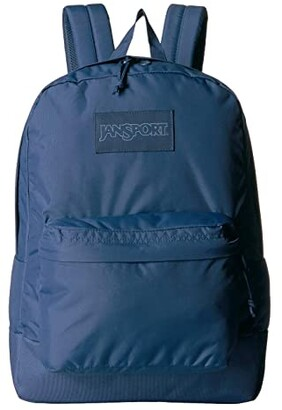 JanSport Mono Superbreak(r) (Dark Denim) Backpack Bags