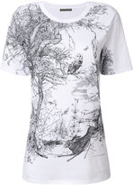 Alexander McQueen Nature print T-shirt - women - Cotton - 38