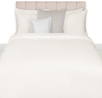 Essentials Egyptian Cotton Sateen Duvet Cover - Ivory - King
