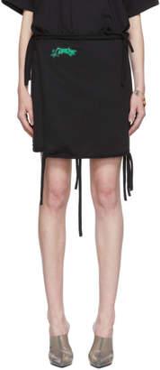 Ottolinger Black Jersey Miniskirt