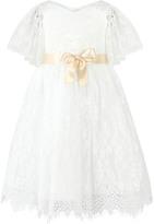 Monsoon Felicia Flutter Lace Dress