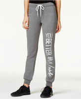 Material Girl Active Juniors' Graphic Sweatpants, Only at Macy's