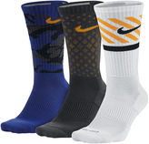 Nike 3-pk. Dri-FIT Triple Fly Crew Socks