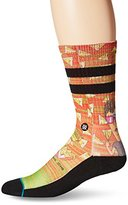 Stance Men's Beavis and Butthead Food Coma Crew Sock