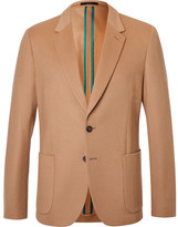 Paul Smith Camel Slim-Fit Wool and Cashmere-Blend Blazer