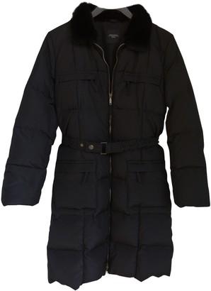 Max Mara Weekend Black Polyester Coats